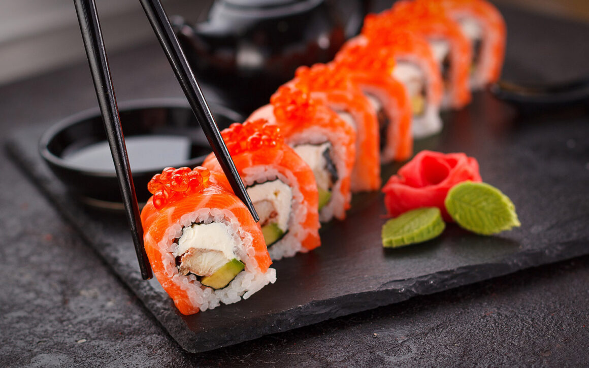 Guide To Create California Roll Sushi